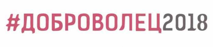 логотип год добровольца 2018