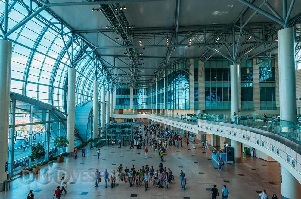 зона прилета аэропорта Домодедово