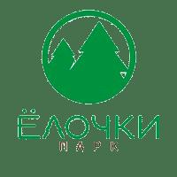 логотип городского парка елочки, логотип парк ёлочки