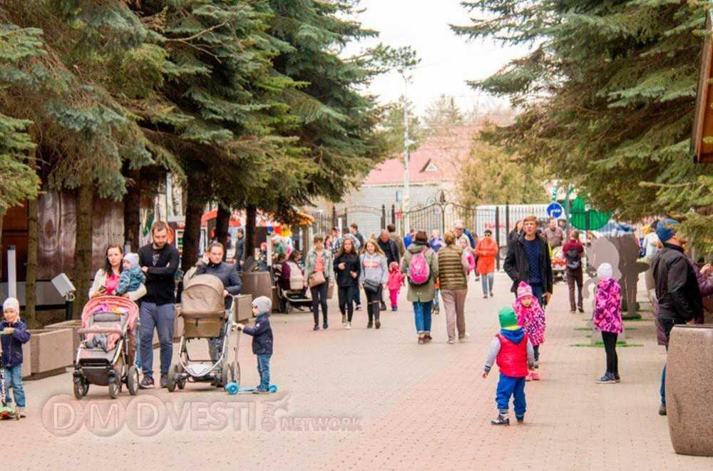 Парк Ёлочки в Домодедово 29 апреля посетило 10 000 человек