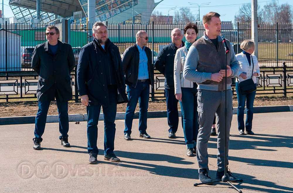 Парад коммунальной техники прошел в Домодедово