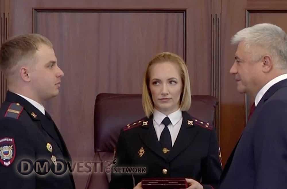 Владимир Колокольцев вручил награды сотрудникам полиции