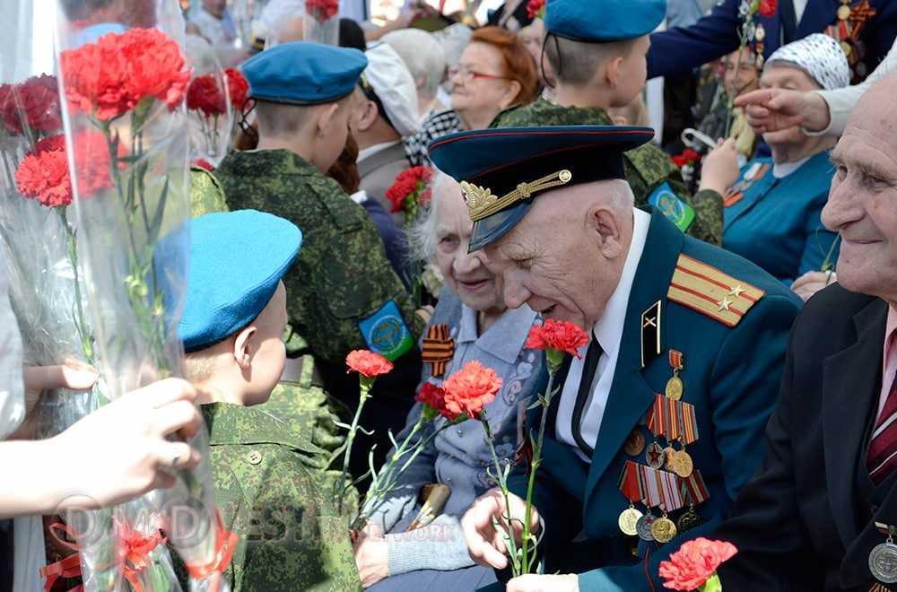 Домодедовское информагентство поздравляет с Днем Победы
