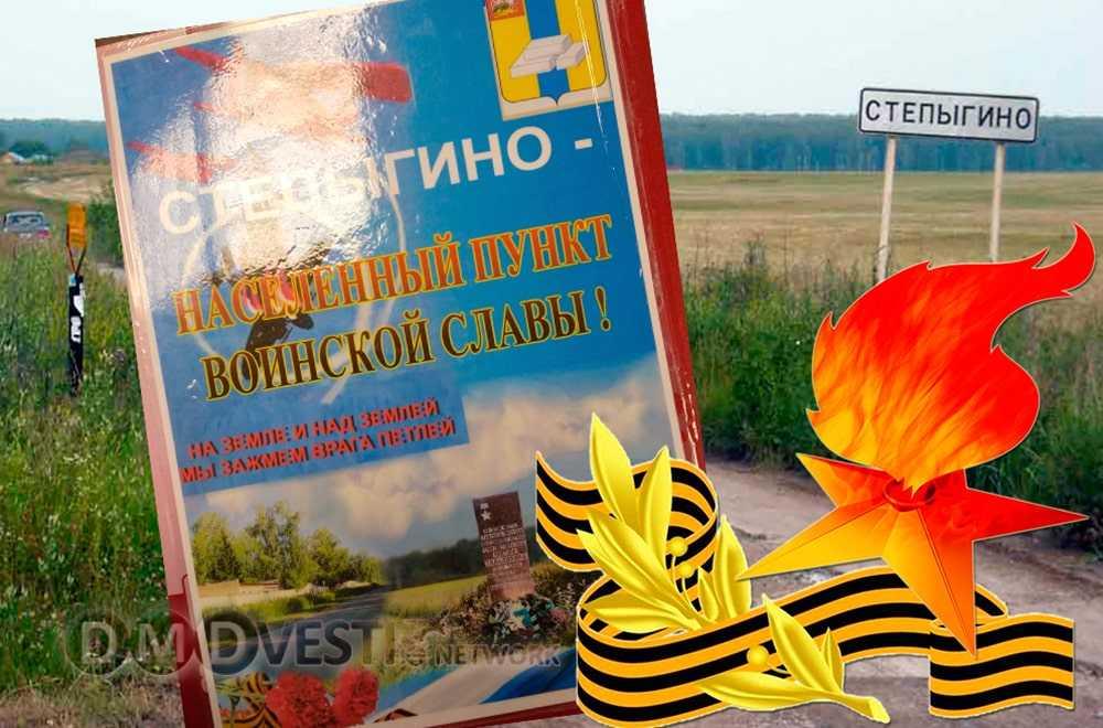 Домодедовской деревне Степыгино присвоено почетное звание