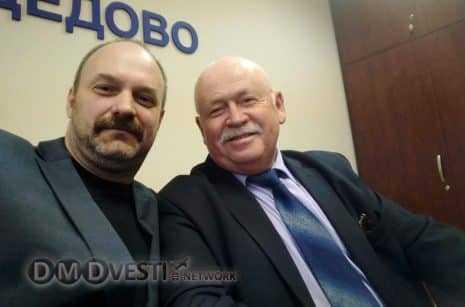Алексей Леонтьевич Кирин и Ведешкин Виктор Николаевич Домодедово