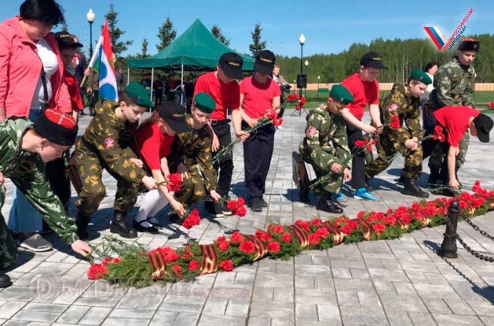 ОНФ в Подмосковье провел акцию «Урок Победы – Бессмертный полк» и патриотические субботники