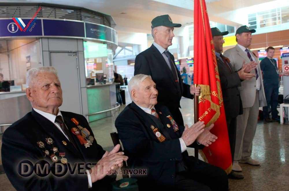 Подмосковный штаб Народного фронта принял участие в проводах ветеранского Бессмертного полка в Берлин