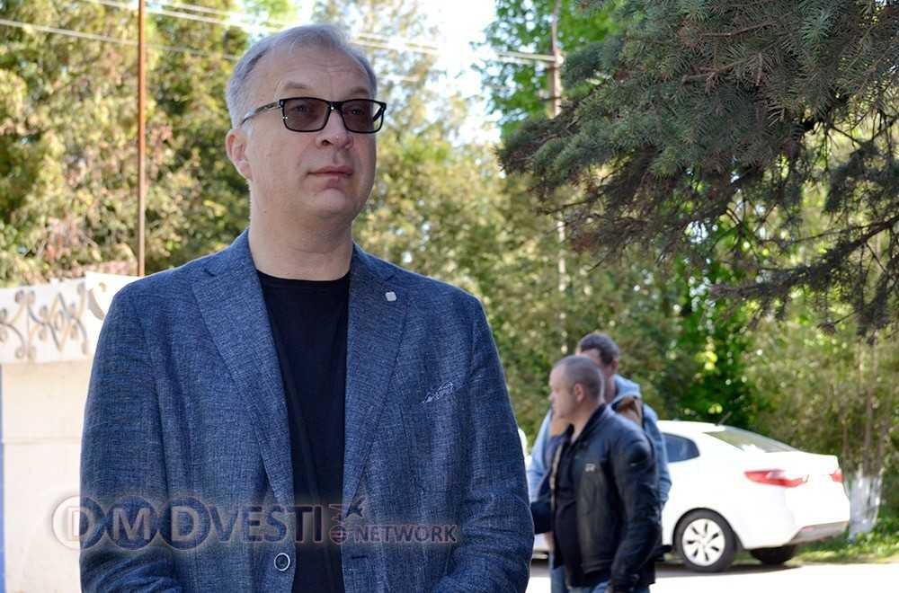 главный врач домодедовской центральной больницы Андрей Анатольевич Осипов