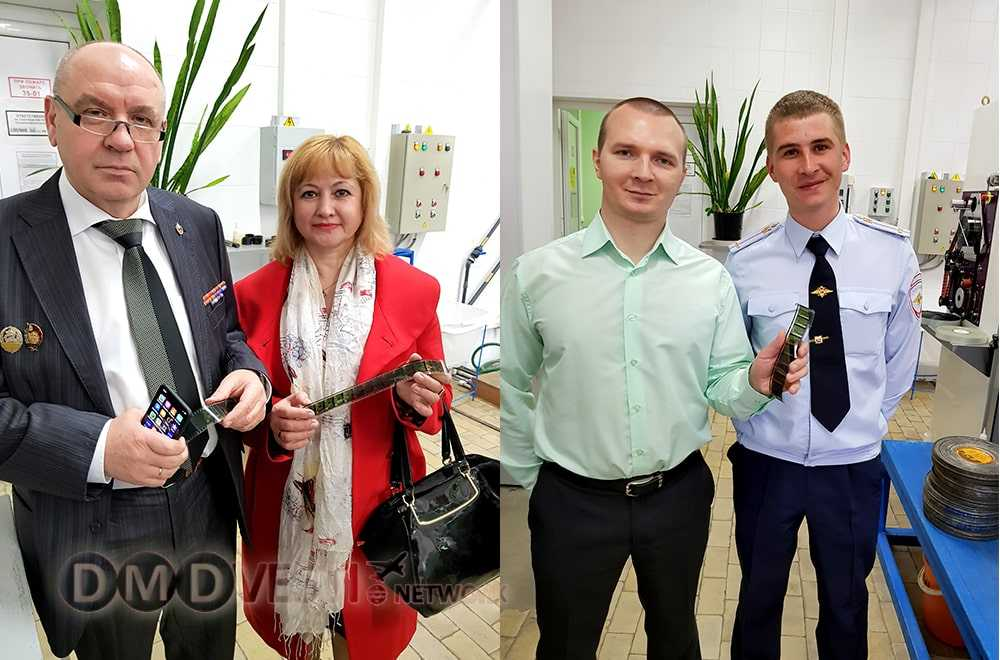 Ветераны службы Госавтоинспекции посетили Госфильмофонд