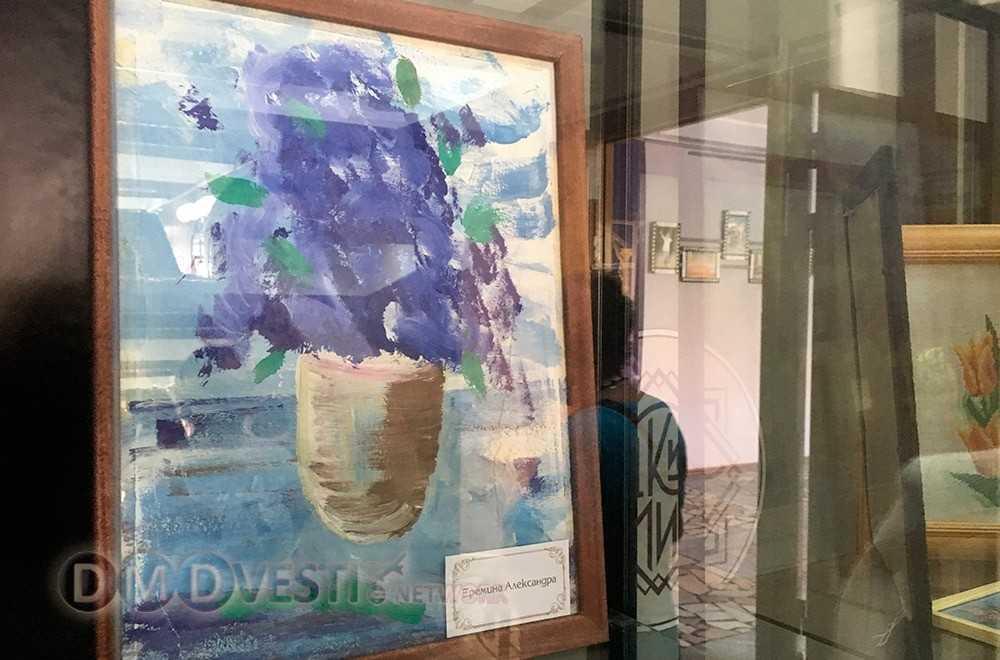 Выставка творческих работ инвалидов открылась в Домодедово