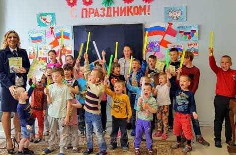 Госавтоинспекторы провели урок безопасности в домодедовском центре Семья