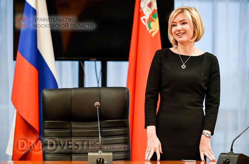Анастасия Звягина Министр Правительства Московской области по информационной политике