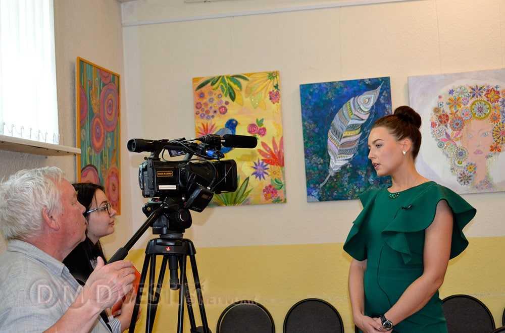 Персональная выставка Марии Серёжиной открылась в Домодедово