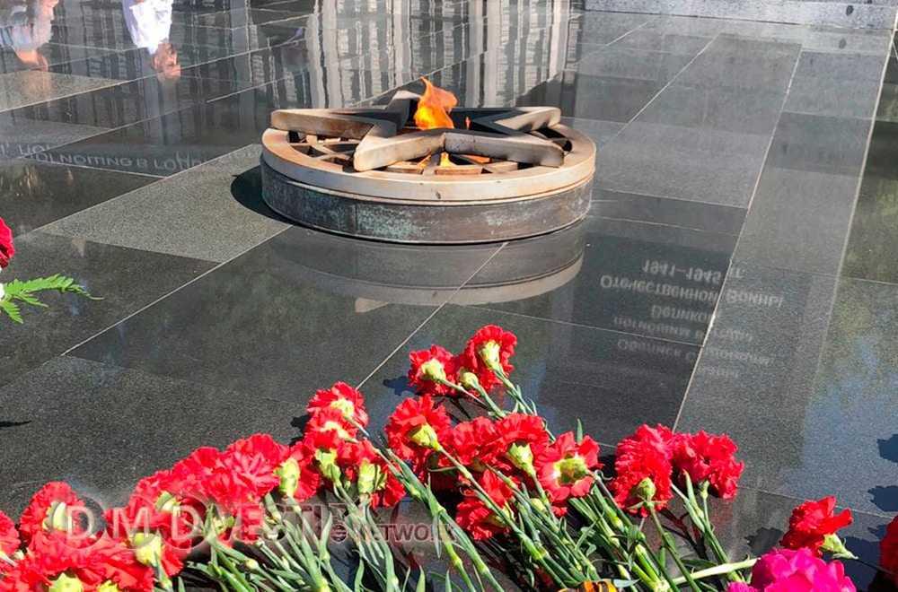 В Домодедово проходят мероприятия посвященные Дню памяти и скорби
