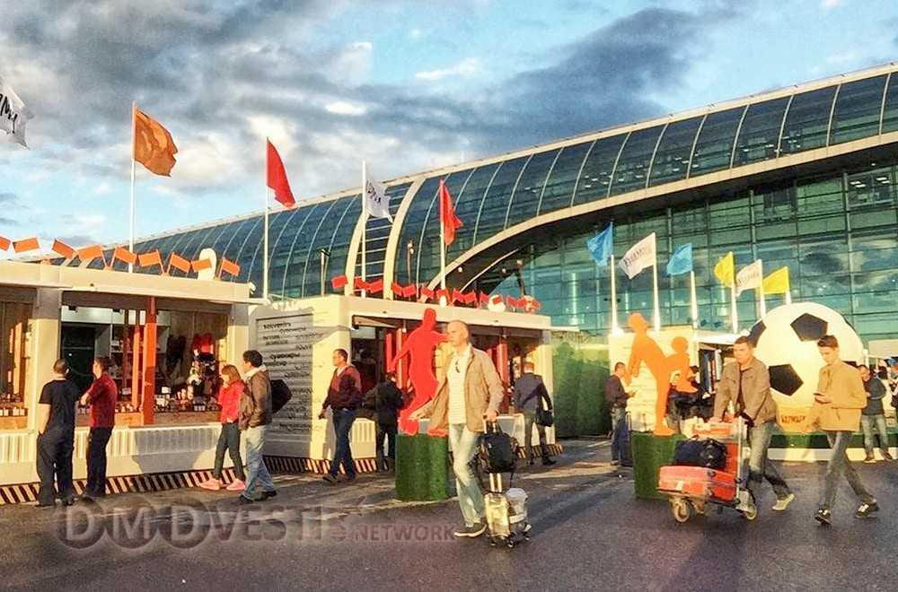 В аэропорту Домодедово работает центр поддержки карт болельщика