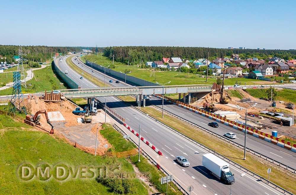 В Домодедово завершается строительство путепровода