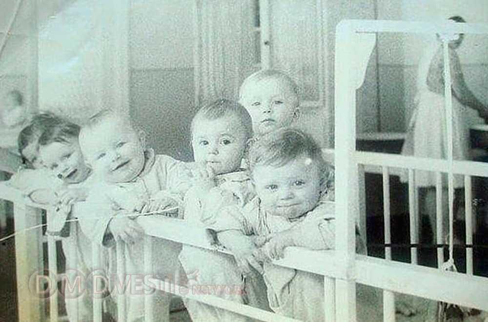Вот таких карапузов брали в детский сад в СССР 1966 год