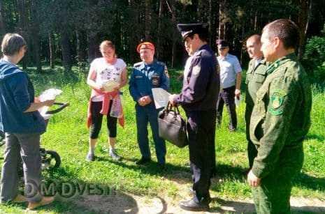 Противопожарные рейды результативно проходят в СНТ Домодедово