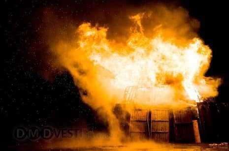 Три пожара произошло в Домодедово за неделю