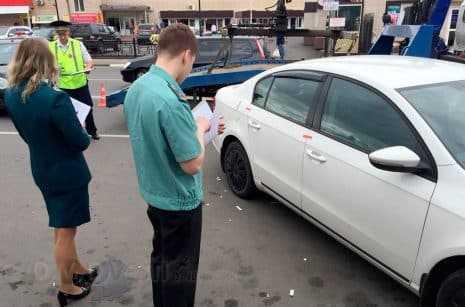 В Домодедово налоговые инспекторы и судебные приставы проводят аресты имущества должников