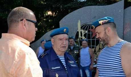 Домодедовское Боевое Братство отметило День ВДВ