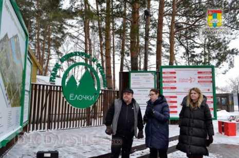Алексей Андреев Общественники Домодедово провели проверку готовности парка Ёлочки к зиме и праздникам