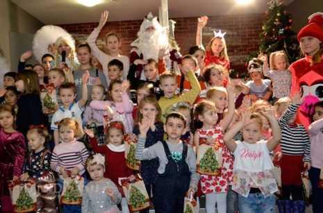 В кинотеатре Матрица Домодедово с успехом прошла ежегодная Новогодняя Ёлка