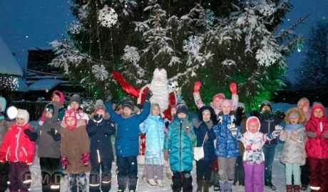 Из Домодедово в Горки на Дед Морозовскую дачу и Новогодние Ёлки