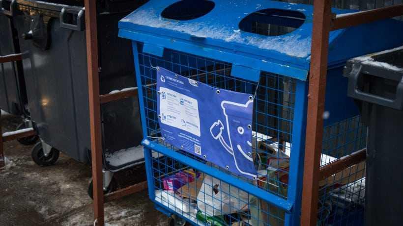 Почти 100 контейнеров для раздельного сбора мусора установили в Люберцах за неделю