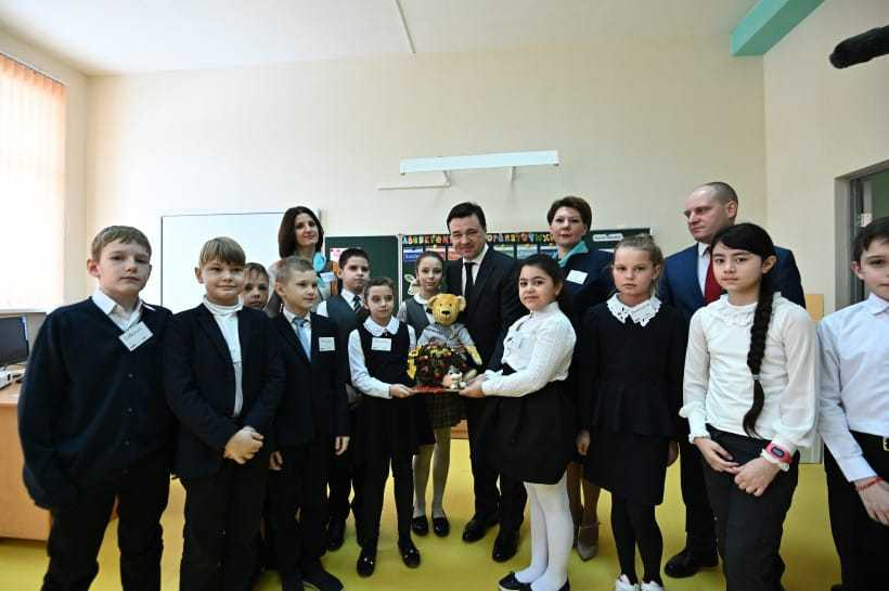 Воробьев посетил Ивантеевку 28.02.19