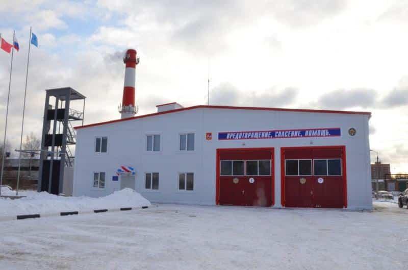 7 новых пожарных депо планируется ввести в Московской области в 2019 году
