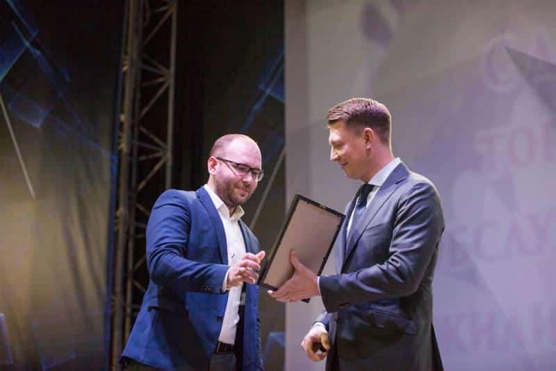 Александр Двойных поздравил работников торговли, бытового обслуживания населения и жилищно-коммунального хозяйства