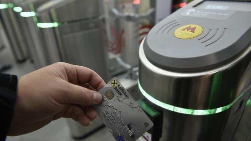 Бесконтактная оплата проезда появилась на всех станциях столичного метрополитена