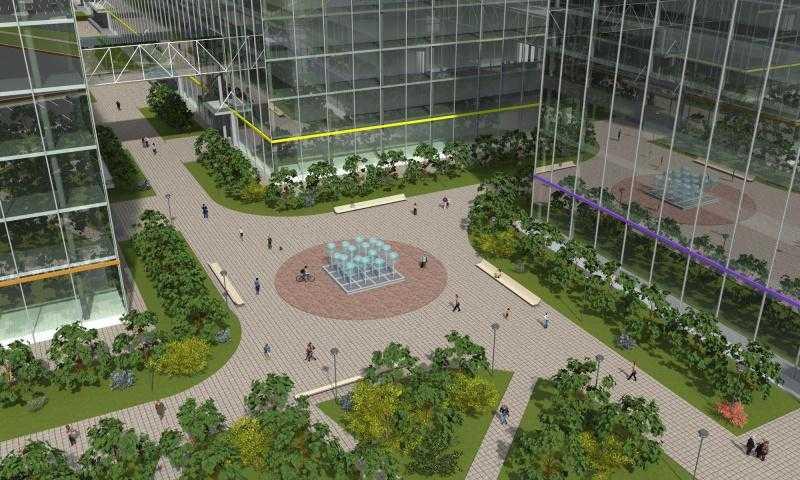 Центр оптово-розничной торговли площадью более 1 млн кв. м построят в Аэротрополисе DME