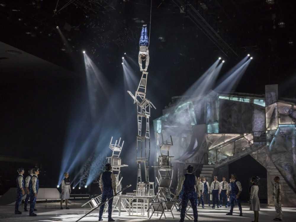 Цирк дю Солей устроит европейскую премьеру шоу Crystal в Москве