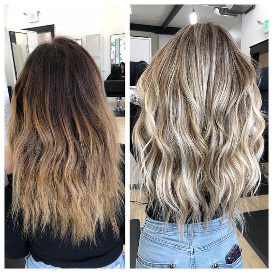 Когда и как можно красить нарощенные волосы?