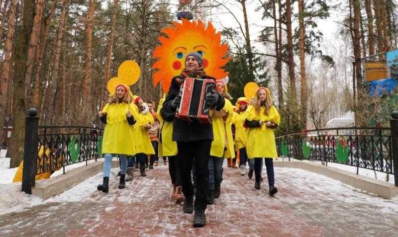 Масленичные гуляния прошли на 25 площадках городского округа Домодедово