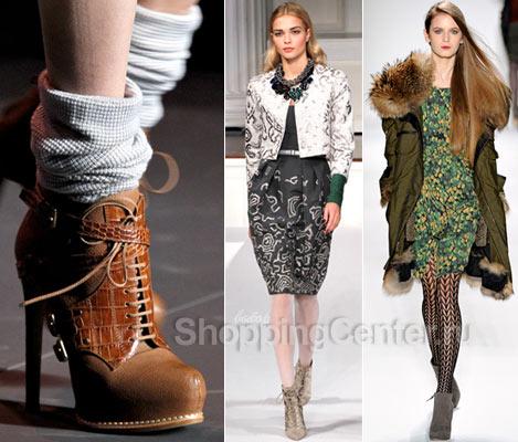 Модная обувь 2019. Модные женские ботинки