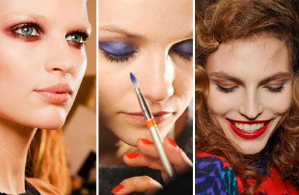 Модные цвета в макияже глаз