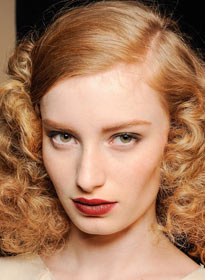 Ретро макияж, Bottega Veneta