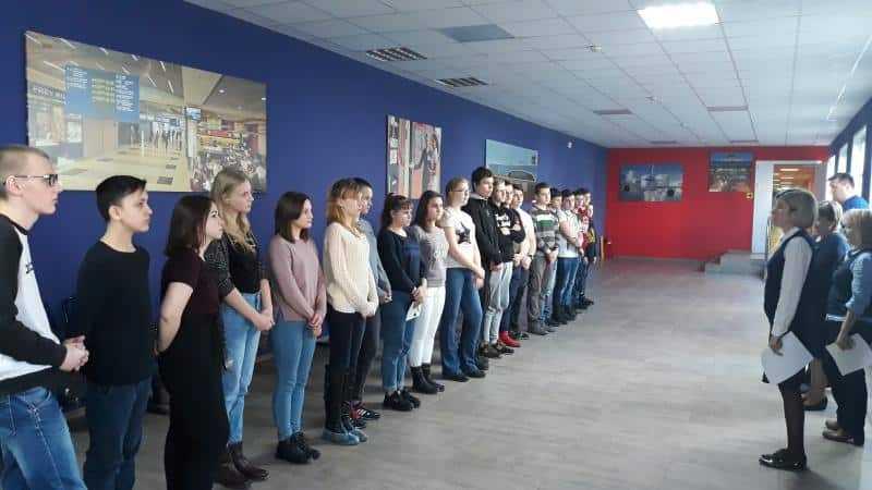 «Московия» начала профессиональное обучение школьников