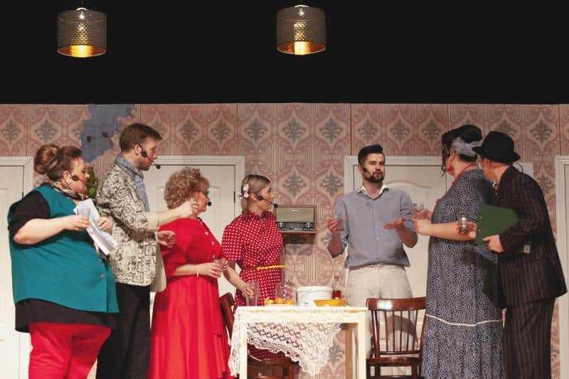 Необычной пьесой в Домодедово поздравили работников культуры с профессиональным праздником