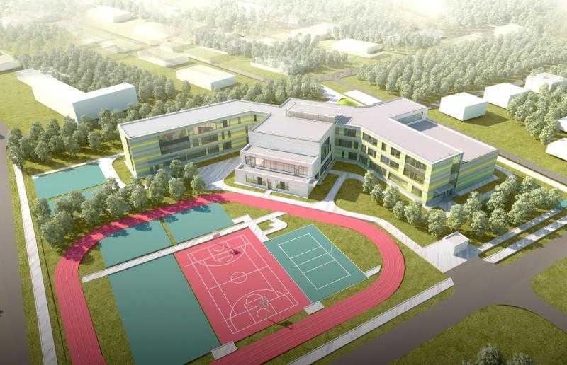 Школу на 275 учащихся достроят в Домодедово в 2019 году