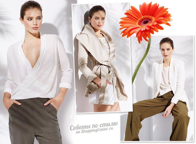 Модные тенденции весны из коллекции SuiteBlanco, модель Emily DiDonato