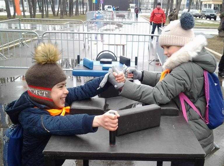 Ученики Чурилковской школы на Фестивале «Открытая Росгвардия»