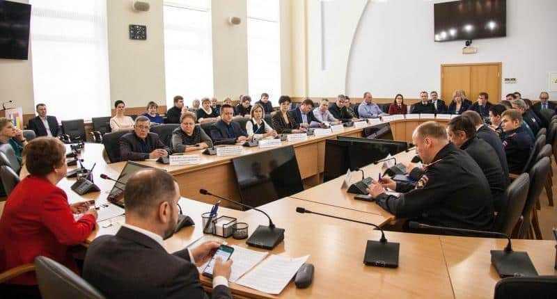 В администрации г.о. Домодедово состоялось заседание Комиссии по предупреждению и ликвидации ЧС и обеспечению пожарной безопасности
