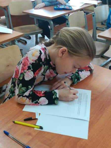 В Домодедово проходит муниципальный этап Всероссийской олимпиады среди обучающихся начальных классов