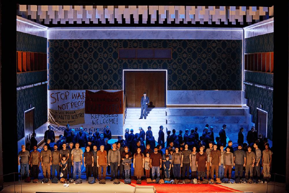 В Гамбурге выходит «Набукко» в постановке Серебренникова