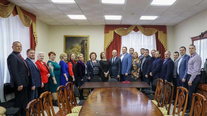 Звягина приняла доклад главы Можайского городского округа об итогах работы в 2018 году