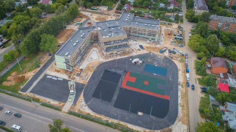 В Домодедове идет капитальный ремонт 3 сельских школ, а также строительство новых учреждений образования